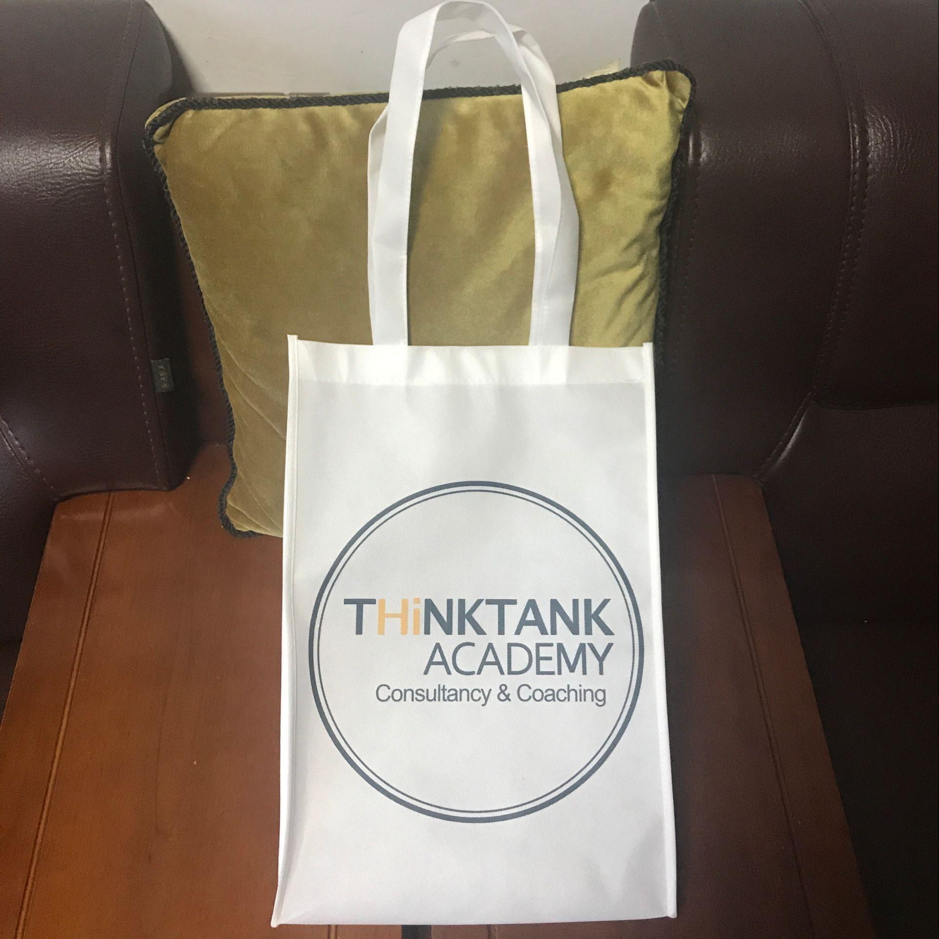 订做香港不织布袋定制不织布手提购物袋广告宣传礼品袋50
